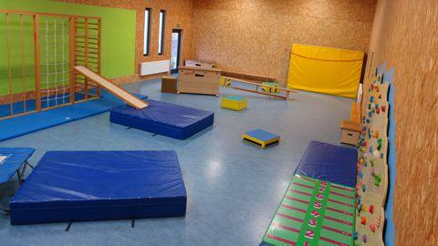 Bewegungsraum für Vorschulkinder